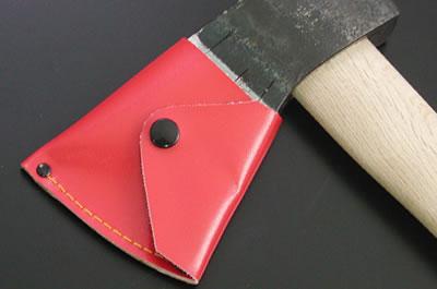 【完全予約制】信州型斧用 赤レザーケース