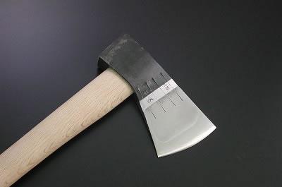 木馬斧 700g【根切り斧/生木薪割斧】