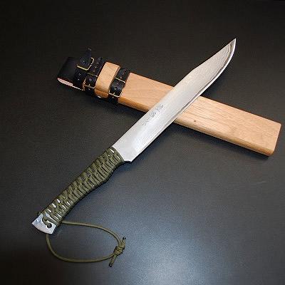 土佐三日月狩猟拵刀「響」角鞘