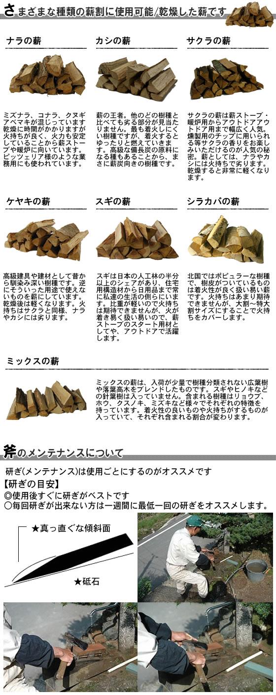 薪・メンテナンス