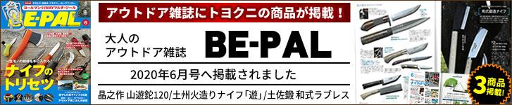 BE-PAL2020年6月号に掲載されました