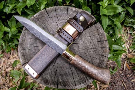フロンティア剣鉈テェッカー180 白鋼 両刃
