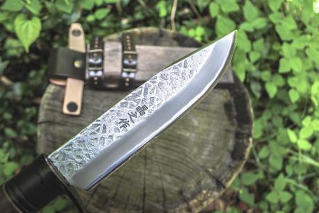 フロンティア剣鉈テェッカー150 白鋼 両刃